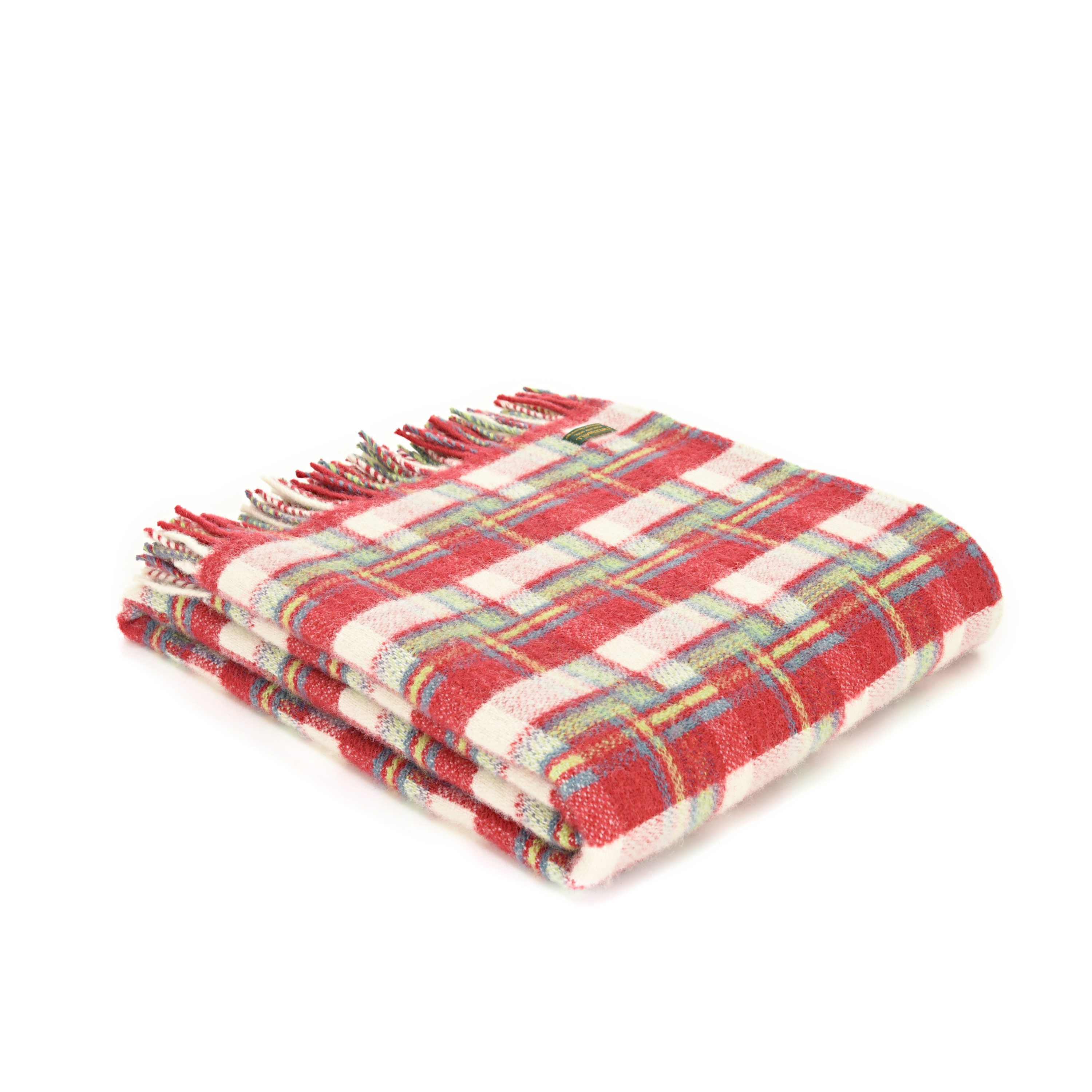 Red Check Welsh Blanket