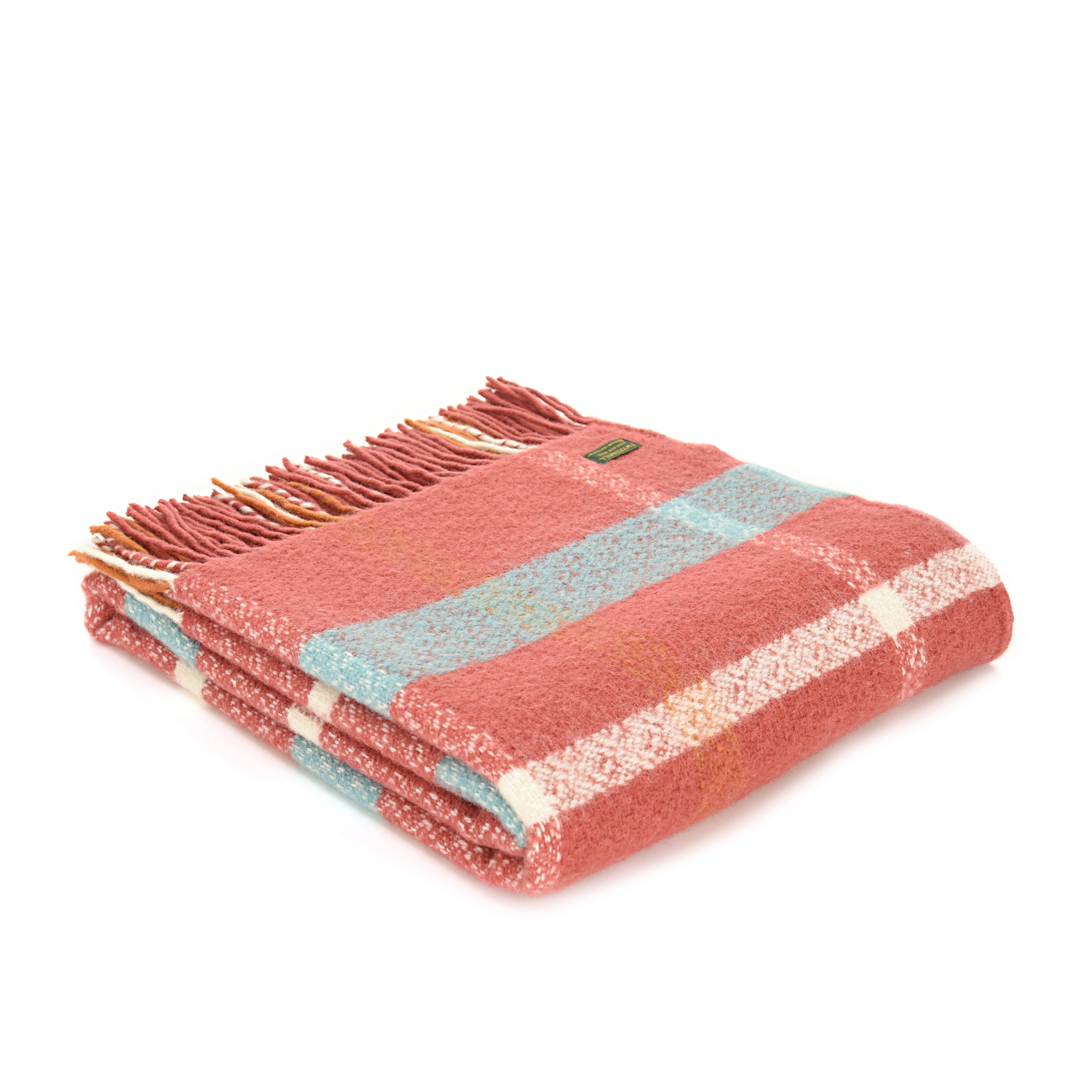 Pink & Baby Blue Welsh Blanket